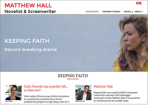 Matthew Hall's  website has been designed and developed by Elizabeth Walsh